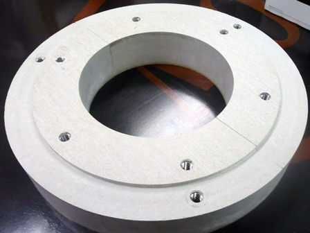 machined thermal materials